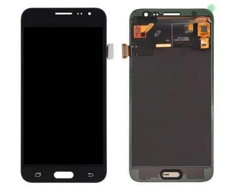 Ansamblu Display LCD + Touchscreen Samsung Galaxy J3 2016 J320M Black Negru . Ecran + Digitizer Samsung Galaxy J3 2016 J320M Negru Black