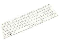Tastatura Acer TravelMate P276 M alba. Keyboard Acer TravelMate P276 M alba. Tastaturi laptop Acer TravelMate P276 M alba. Tastatura notebook Acer TravelMate P276 M alba