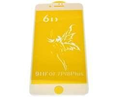 Folie Protectie 6D Apple Iphone 7 Plus. Folie Securizata 6D Apple Iphone 7 Plus Alba