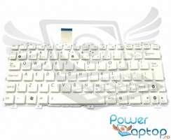 Tastatura Asus Eee PC 1015PEM alba. Keyboard Asus Eee PC 1015PEM. Tastaturi laptop Asus Eee PC 1015PEM. Tastatura notebook Asus Eee PC 1015PEM