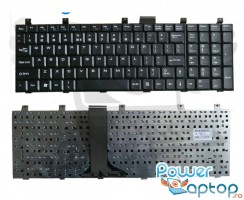 Tastatura MSI CX700  neagra. Keyboard MSI CX700  neagra. Tastaturi laptop MSI CX700  neagra. Tastatura notebook MSI CX700  neagra