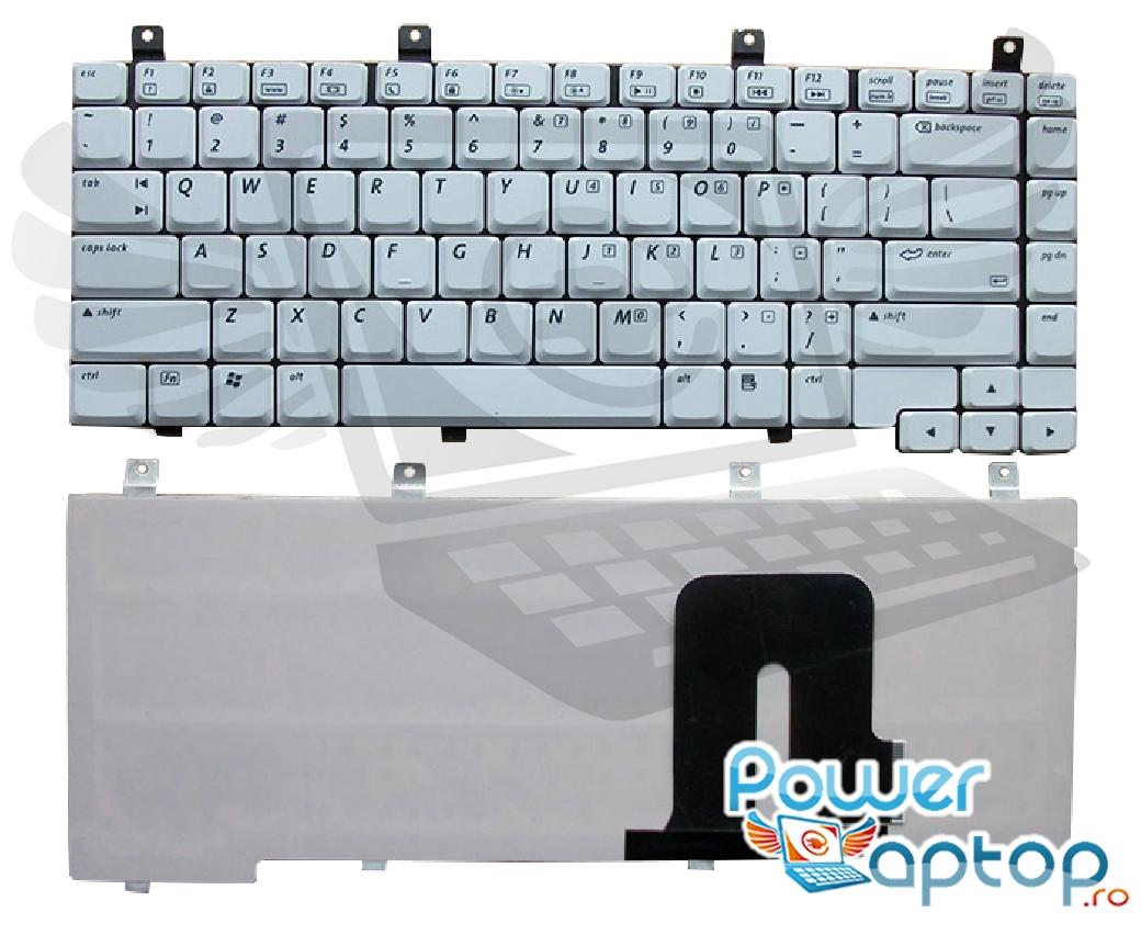 Tastatura HP Pavilion DV4300 alba imagine