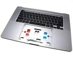 Tastatura Apple A2141 Neagra cu Palmrest Gri. Keyboard Apple A2141 Neagra cu Palmrest Gri. Tastaturi laptop Apple A2141 Neagra cu Palmrest Gri. Tastatura notebook Apple A2141 Neagra cu Palmrest Gri