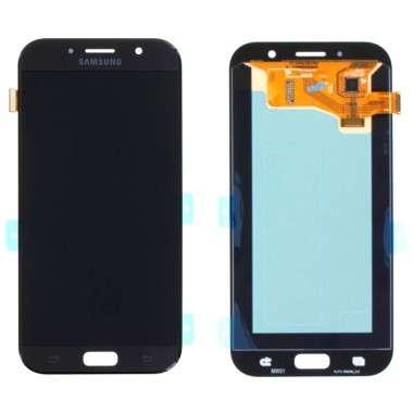 Ansamblu Display LCD + Touchscreen Samsung Galaxy A7 2017 A720 Black Negru . Ecran + Digitizer Samsung Galaxy A7 2017 A720 Negru Black