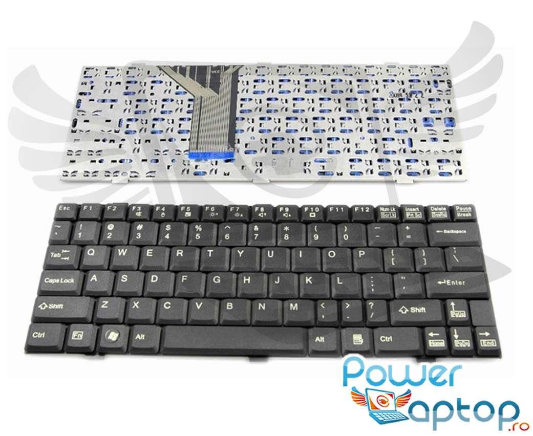 Tastatura Fujitsu Lifebook P5020 imagine powerlaptop.ro 2021