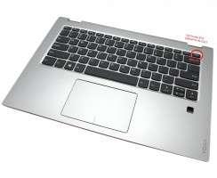 Palmrest Lenovo Yoga 520-14ISK. Carcasa Superioara Lenovo Yoga 520-14ISK Argintiu cu tastatura si touchpad inclus