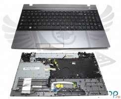 Tastatura Samsung  NP305V5A neagra cu Palmrest gri. Keyboard Samsung  NP305V5A neagra cu Palmrest gri. Tastaturi laptop Samsung  NP305V5A neagra cu Palmrest gri. Tastatura notebook Samsung  NP305V5A neagra cu Palmrest gri