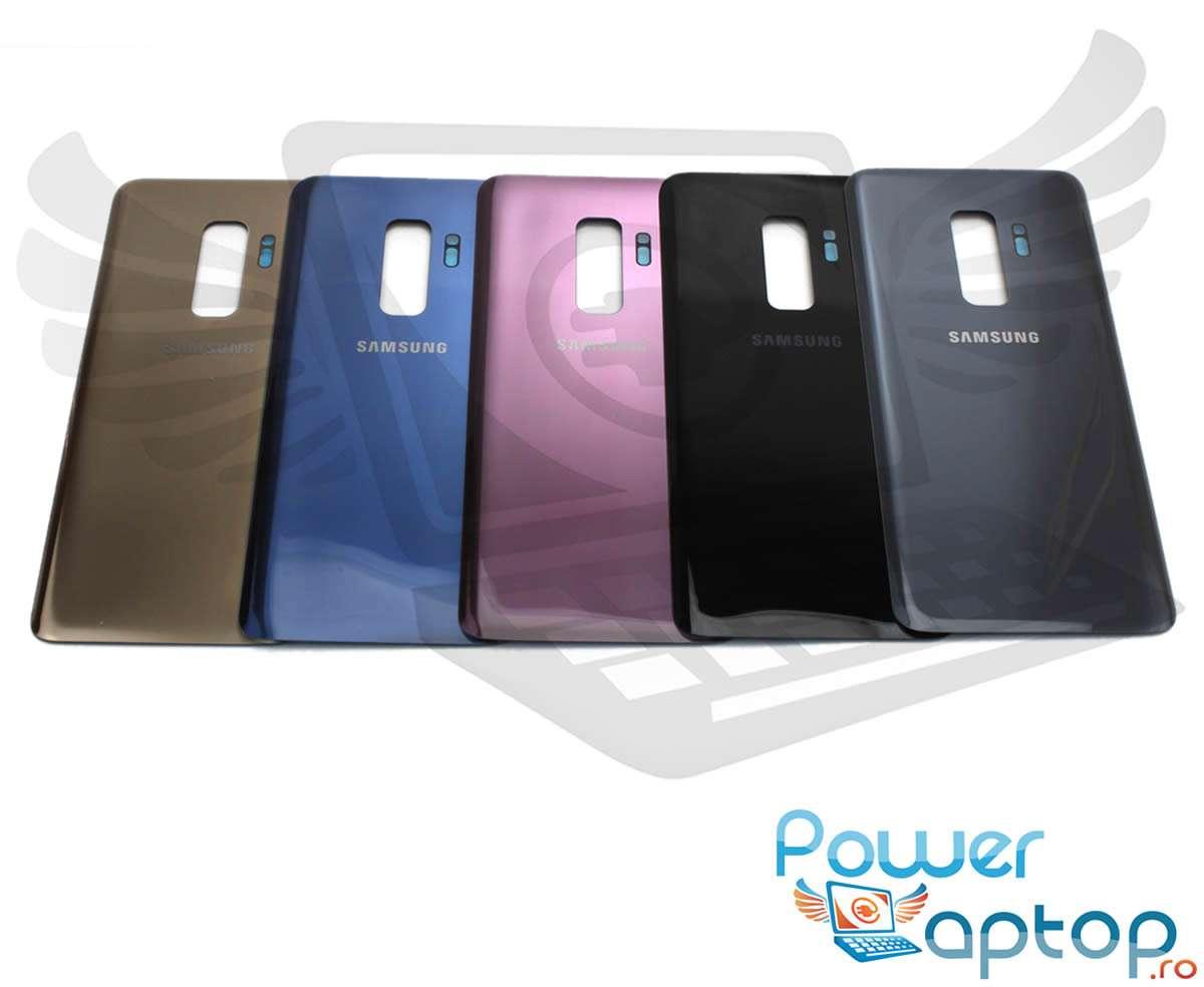 Capac Baterie Samsung Galaxy S9 Plus G965 Negru Midnight Black Capac Spate imagine powerlaptop.ro 2021