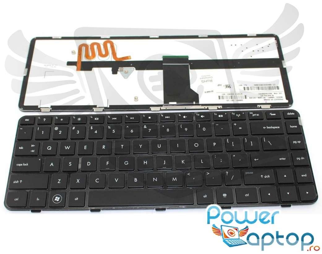 Tastatura HP Pavilion DM4 1360 iluminata backlit imagine powerlaptop.ro 2021