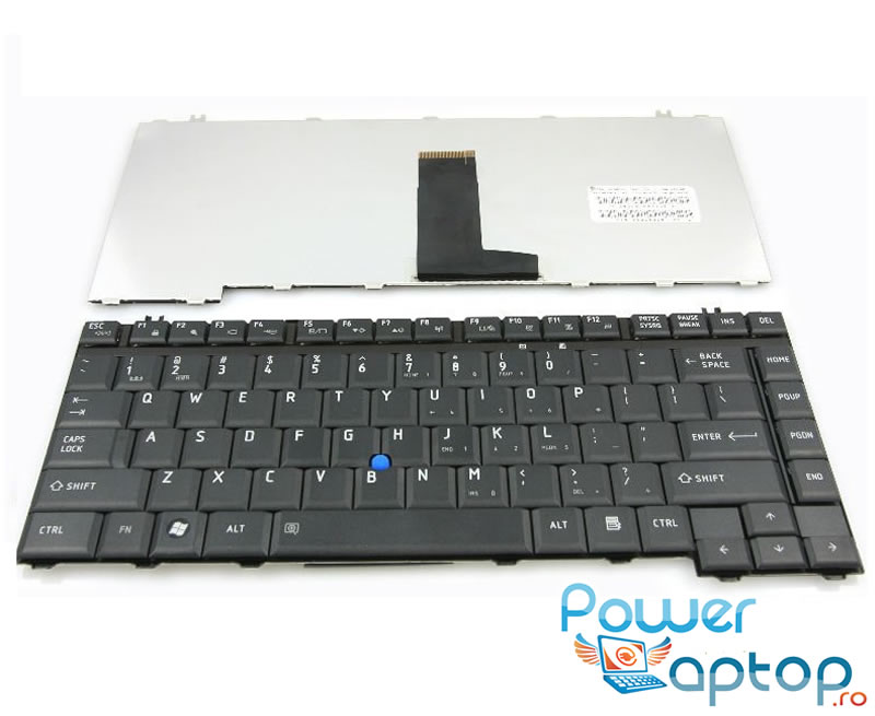 Tastatura Toshiba Tecra A10 neagra imagine powerlaptop.ro 2021