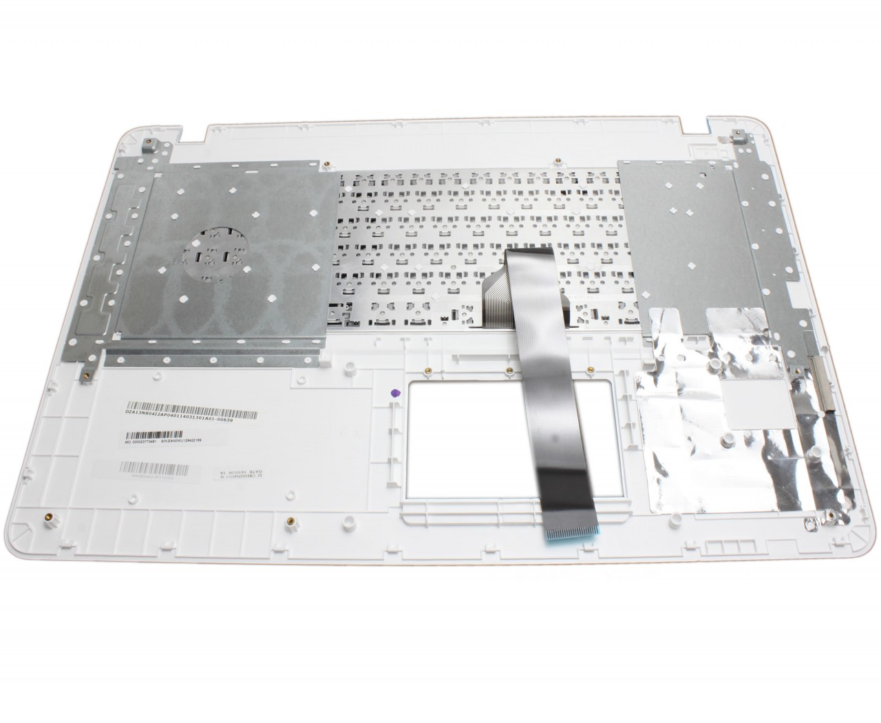 Tastatura Asus 90NB08E1-E31US0 neagra cu Palmrest alb imagine