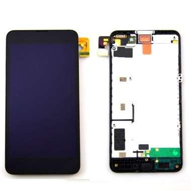 Ansamblu Display LCD + Touchscreen Nokia Lumia 630 ORIGINAL. Ecran + Digitizer Nokia Lumia 630 ORIGINAL