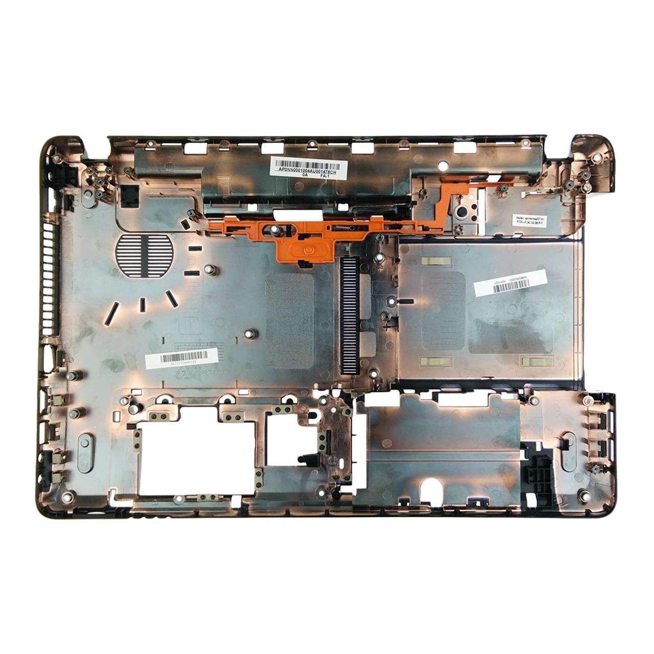 Bottom Case Packard Bell EasyNote TE11BZ Carcasa Inferioara Neagra imagine powerlaptop.ro 2021