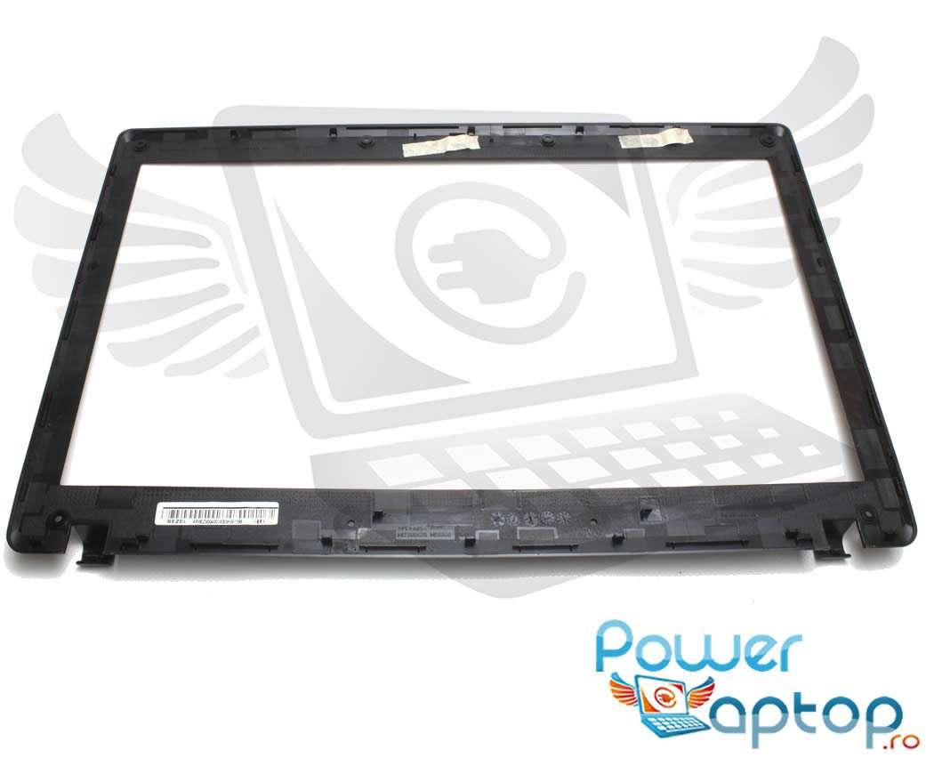 Rama Display Lenovo G565 Bezel Front Cover Neagra imagine powerlaptop.ro 2021