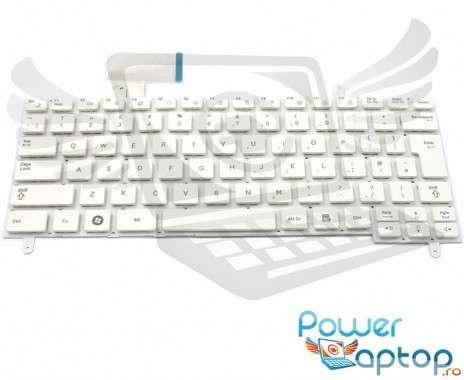 Tastatura Samsung  N210 alba. Keyboard Samsung  N210. Tastaturi laptop Samsung  N210. Tastatura notebook Samsung  N210