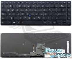 Tastatura Toshiba Tecra Z40-AK03M iluminata backlit. Keyboard Toshiba Tecra Z40-AK03M iluminata backlit. Tastaturi laptop Toshiba Tecra Z40-AK03M iluminata backlit. Tastatura notebook Toshiba Tecra Z40-AK03M iluminata backlit