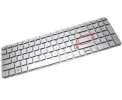 Tastatura HP  640436 001 Argintie. Keyboard HP  640436 001. Tastaturi laptop HP  640436 001. Tastatura notebook HP  640436 001