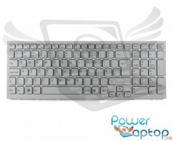 Tastatura Sony VAIO VPCEL24FX alba. Keyboard Sony VAIO VPCEL24FX alba. Tastaturi laptop Sony VAIO VPCEL24FX alba. Tastatura notebook Sony VAIO VPCEL24FX alba