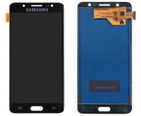 Ansamblu Display LCD + Touchscreen Samsung Galaxy J5 Duos 2016 J510 TFT LCD Black Negru . Ecran + Digitizer Samsung Galaxy J5 Duos 2016 J510 TFT LCD Negru Black