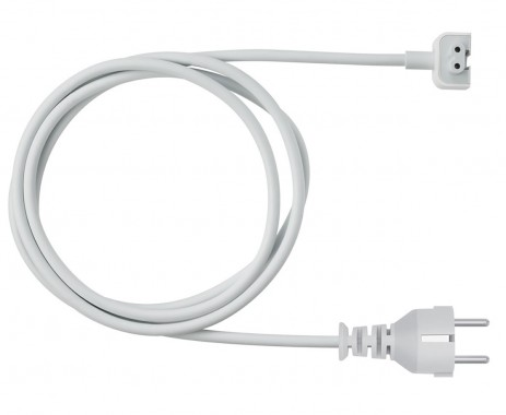 Cablu prelungitor Volex pentru incarcator Apple Macbook alb 1.8M