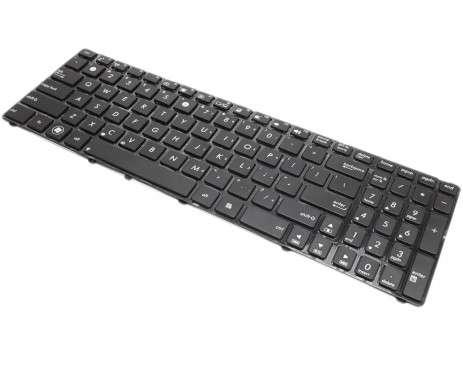 Tastatura Asus  K70AC. Keyboard Asus  K70AC. Tastaturi laptop Asus  K70AC. Tastatura notebook Asus  K70AC