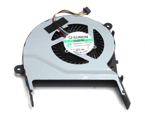 Cooler laptop Asus  13NB07Q1AM0901 Mufa 4 pini. Ventilator procesor Asus  13NB07Q1AM0901. Sistem racire laptop Asus  13NB07Q1AM0901