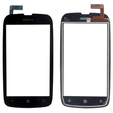 Touchscreen Digitizer Nokia Lumia 610. Geam Sticla Smartphone Telefon Mobil Nokia Lumia 610