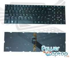 Tastatura Packard Bell  P5WS0 iluminata backlit. Keyboard Packard Bell  P5WS0 iluminata backlit. Tastaturi laptop Packard Bell  P5WS0 iluminata backlit. Tastatura notebook Packard Bell  P5WS0 iluminata backlit