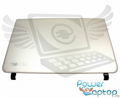 Carcasa Display Toshiba  A000291890. Cover Display Toshiba  A000291890. Capac Display Toshiba  A000291890 Argintie