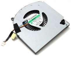 Cooler procesor CPU laptop Alienware 17 R4. Ventilator procesor Alienware 17 R4.