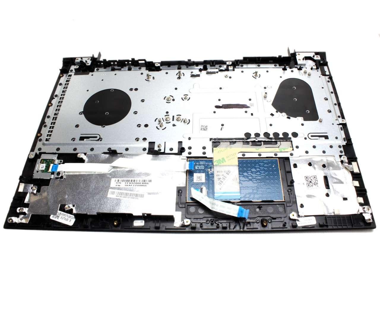 Palmrest Lenovo TF93200EBB6 Negru cu tastatura si touchpad imagine powerlaptop.ro 2021