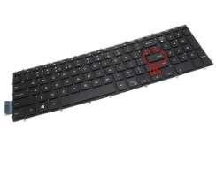 Tastatura Dell Inspiron 5570 iluminata. Keyboard Dell Inspiron 5570. Tastaturi laptop Dell Inspiron 5570. Tastatura notebook Dell Inspiron 5570