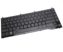 Tastatura Fujitsu Siemens  AEFJ8U00010 cu urechi de prindere. Keyboard Fujitsu Siemens  AEFJ8U00010. Tastaturi laptop Fujitsu Siemens  AEFJ8U00010. Tastatura notebook Fujitsu Siemens  AEFJ8U00010