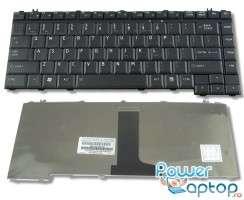 Tastatura Toshiba Satellite L305 neagra. Keyboard Toshiba Satellite L305 neagra. Tastaturi laptop Toshiba Satellite L305 neagra. Tastatura notebook Toshiba Satellite L305 neagra