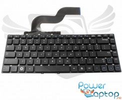 Tastatura Samsung  RC412 neagra. Keyboard Samsung  RC412. Tastaturi laptop Samsung  RC412. Tastatura notebook Samsung  RC412