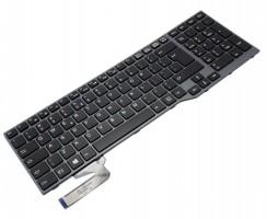 Tastatura Fujitsu Siemens LifeBook E554 iluminata backlit. Keyboard Fujitsu Siemens LifeBook E554 iluminata backlit. Tastaturi laptop Fujitsu Siemens LifeBook E554 iluminata backlit. Tastatura notebook Fujitsu Siemens LifeBook E554 iluminata backlit