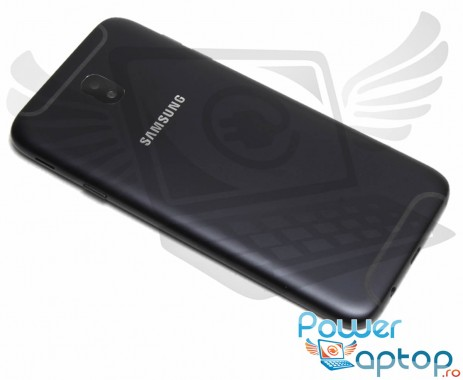 Capac Baterie Samsung Galaxy J7 2017 J730FD Negru Black. Capac Spate Samsung Galaxy J7 2017 J730FD Negru Black