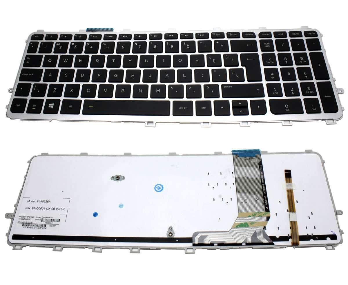 Tastatura HP Envy 15 J iluminata backlit imagine powerlaptop.ro 2021