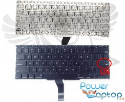 Tastatura Apple MacBook Air A1465 2011. Keyboard Apple MacBook Air A1465 2011. Tastaturi laptop Apple MacBook Air A1465 2011. Tastatura notebook Apple MacBook Air A1465 2011