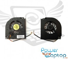 Cooler laptop Gateway NS50T . Ventilator procesor Gateway NS50T . Sistem racire laptop Gateway NS50T