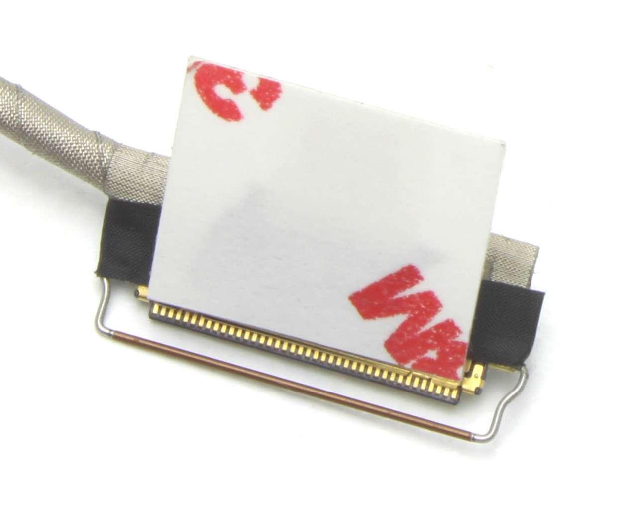 Cablu video eDP Dell DC02002BZ00 40 pini FULL HD 1920x1080 cu touchscreen imagine powerlaptop.ro 2021