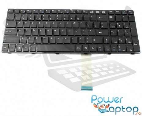 Tastatura MSI  CR6201058XEU. Keyboard MSI  CR6201058XEU. Tastaturi laptop MSI  CR6201058XEU. Tastatura notebook MSI  CR6201058XEU