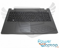 Palmrest Packard Bell EasyNote TE69BH. Carcasa Superioara Packard Bell EasyNote TE69BH Gri cu tastatura si touchpad inclus