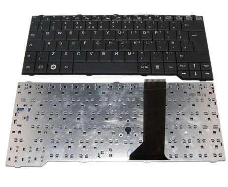 Tastatura Fujitsu Siemens Esprimo Mobile V6545 neagra. Keyboard Fujitsu Siemens Esprimo Mobile V6545 neagra. Tastaturi laptop Fujitsu Siemens Esprimo Mobile V6545 neagra. Tastatura notebook Fujitsu Siemens Esprimo Mobile V6545 neagra