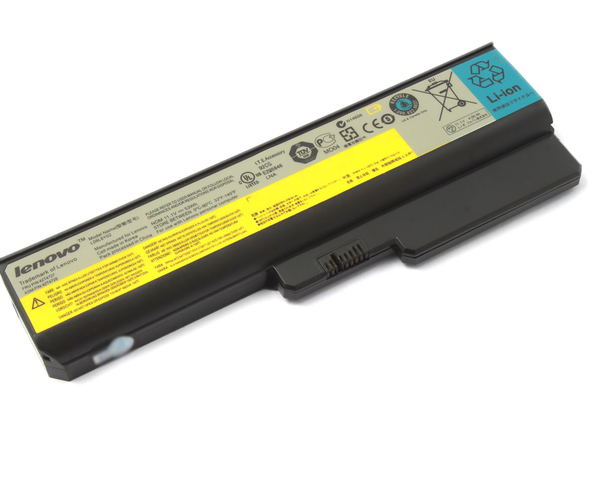 Baterie IBM Lenovo G450 Originala imagine powerlaptop.ro 2021
