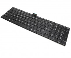 Tastatura Toshiba Satellite C55-A C55A Neagra. Keyboard Toshiba Satellite C55-A C55A Neagra. Tastaturi laptop Toshiba Satellite C55-A C55A Neagra. Tastatura notebook Toshiba Satellite C55-A C55A Neagra