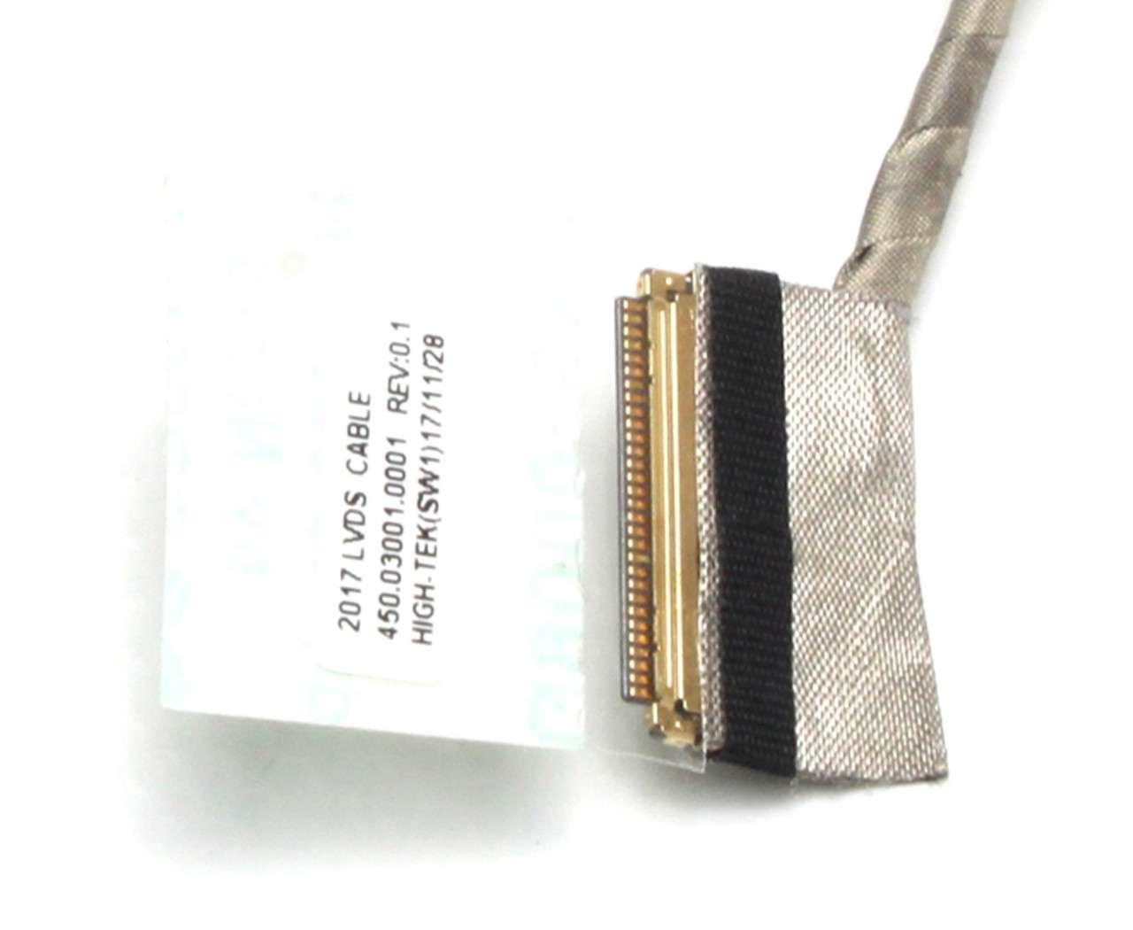 Cablu video eDP Dell MC2TT fara touchscreen imagine