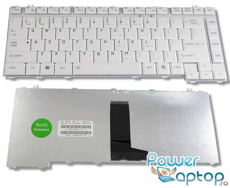 Tastatura Toshiba 9J.N9082.A01 alba imagine