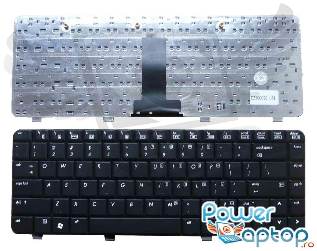 Tastatura HP Pavilion DV2420 neagra imagine powerlaptop.ro 2021
