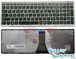 Tastatura Lenovo  G510S Rama gri. Keyboard Lenovo  G510S Rama gri. Tastaturi laptop Lenovo  G510S Rama gri. Tastatura notebook Lenovo  G510S Rama gri